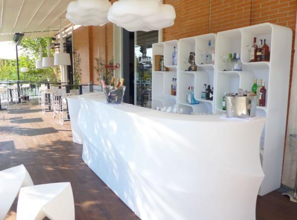BARAONDA Bar Kombination und BARAONDA Display