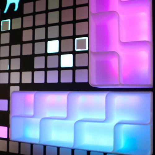 BARAONDA Display mit LED RGBW Beleuchtung