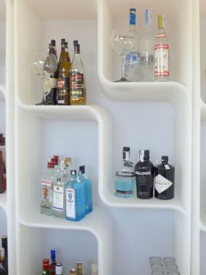 BARAONDA Display zur Präsentation der Getränke