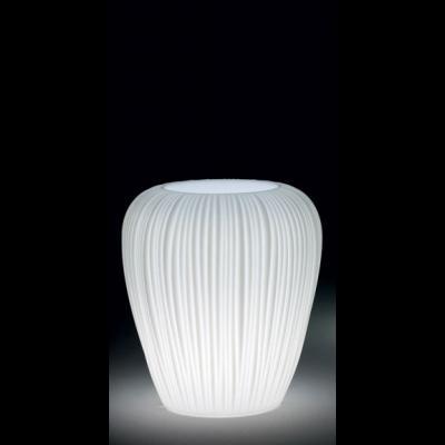 SKIN POT H 60 cm, beleuchteter BlumenTopf, Indoor