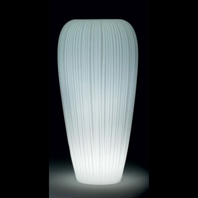 SKIN POT H 120 cm, beleuchteter BlumenTopf, Indoor