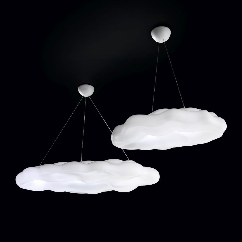 NEFOS Pendelleuchte Wolke 170 cm und 120 cm breit