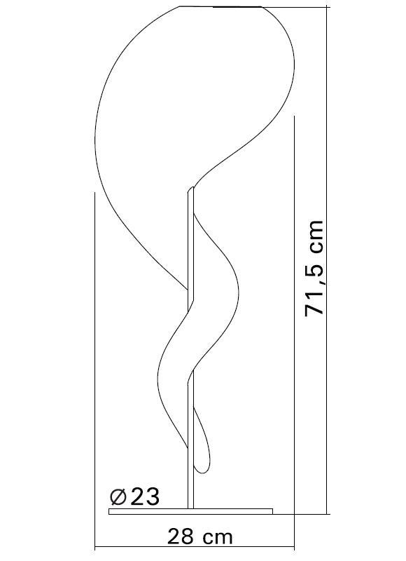 ALIEN Tischleuchte Technische Details