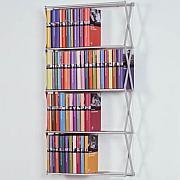 STRETCH DVD / Bücherregal kurz/breit ca. 128 DVD/66 Bücher