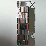 STRETCH DVD / Bücherregal lang/ breit ca. 314 DVD/130 Bücher