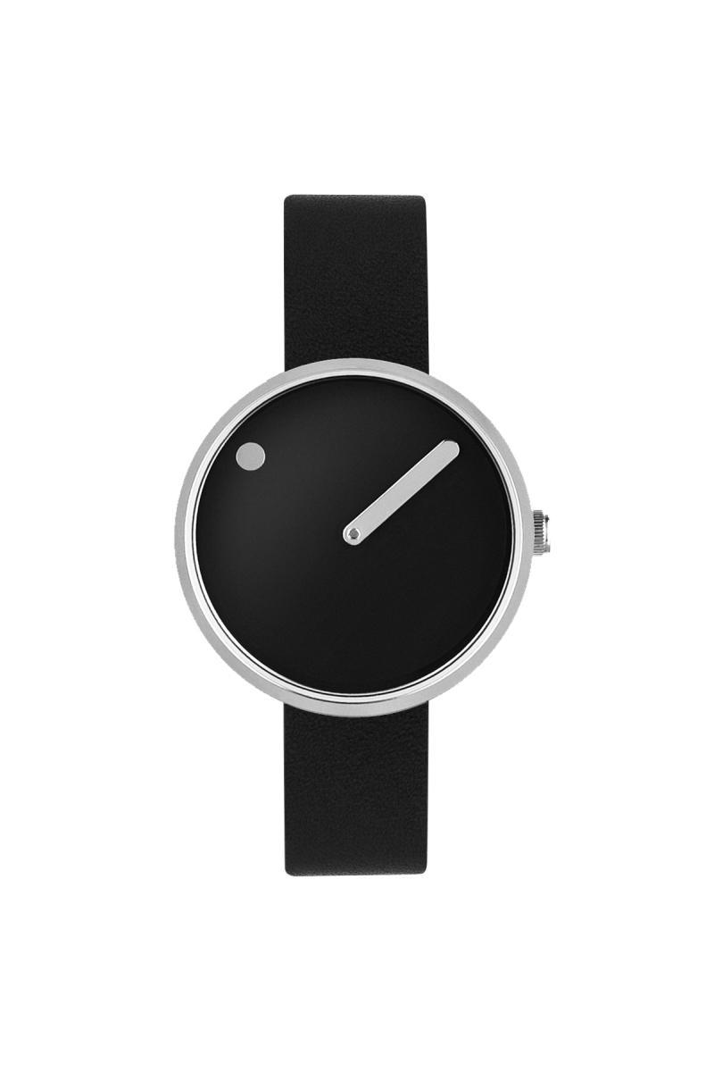 Picto Armbanduhr Ø 45 mm schwarz-edelstahl 43371