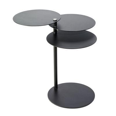MOLINO Beistelltisch schwarz, verstellbar