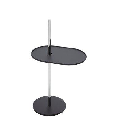 OLIVO Beistelltisch verstellbar schwarz