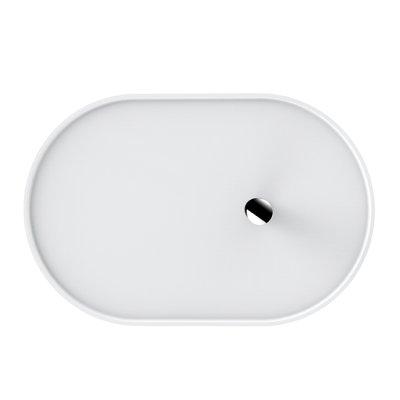 OLIVO Beistelltisch verstellbar weiss