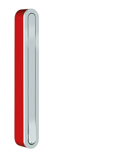 CANOA Klapphaken / Garderobenhaken rot, geschlossen