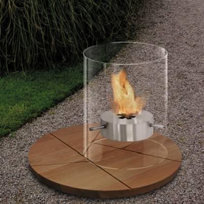 Ponton Fireplace Tischfeuer / Feuerstelle mit Untersetzer