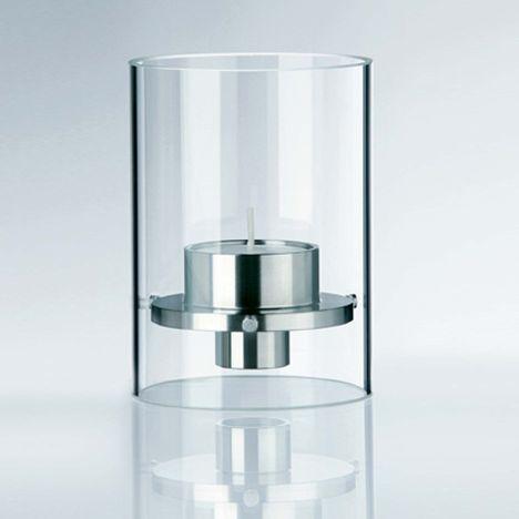ponton Kombi-Licht Teelicht / Kerzenhalter, Borosilikat-Glas