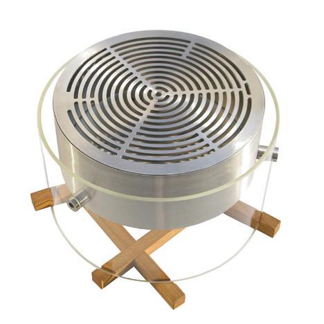 ponton VESTA 1 Tischgrill BBQ Grill mit Grillrost