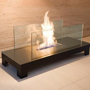 Floor Flame Biokamin, Hersteller Radius Design, Designer Michael R�sing