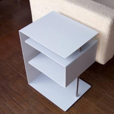 x-centric table Beistelltisch silber