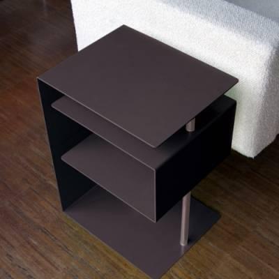 x-centric table Beistelltisch schwarz
