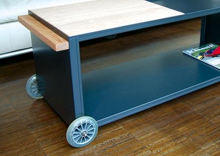 kaminholzwagen von radius design bei. Black Bedroom Furniture Sets. Home Design Ideas