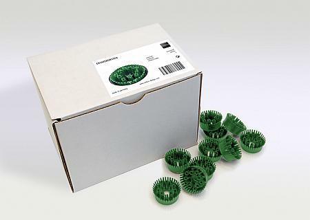 Ersatzbürsten für Fußmatte feet-back grün