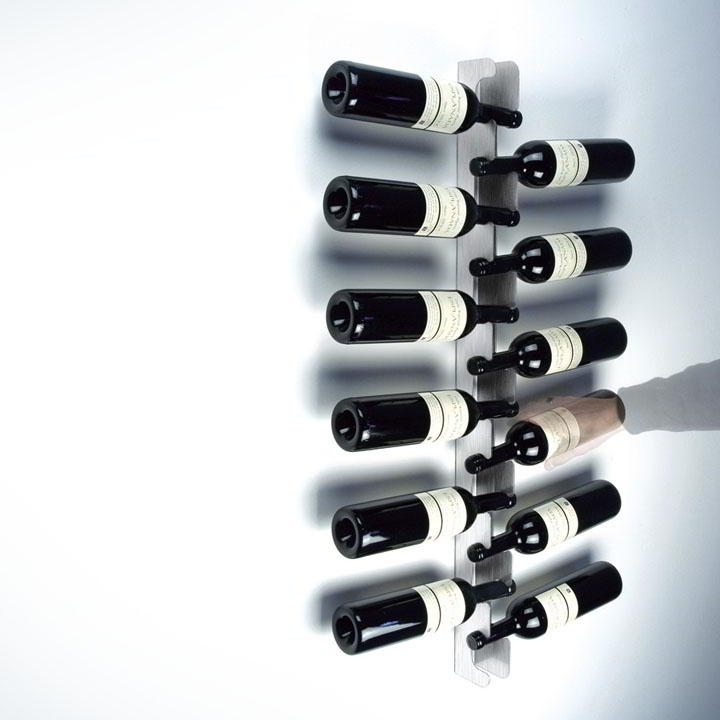 Weinrack Flaschenhalter Edelstahl
