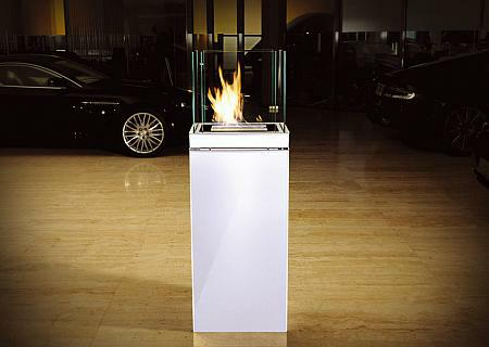 high flame standkamin biokamin radius design. Black Bedroom Furniture Sets. Home Design Ideas