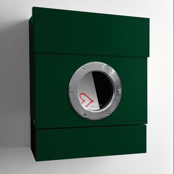 letterman briefkasten 2 von radius design von. Black Bedroom Furniture Sets. Home Design Ideas