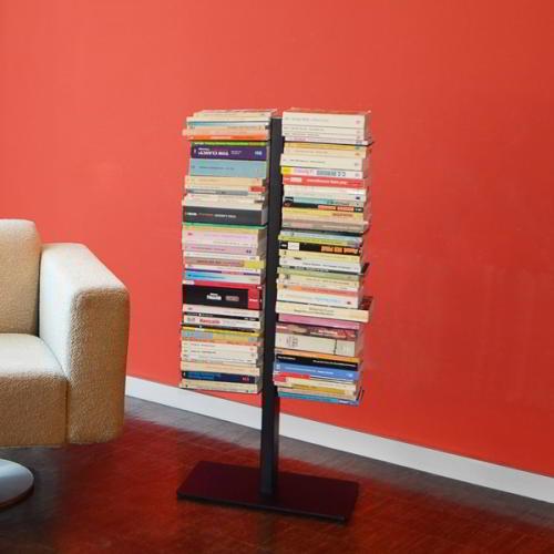 BOOKSBAUM Bücherregal Standregal 90 cm, schwarz