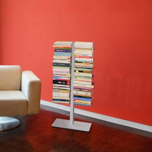 BOOKSBAUM Bücherregal Standregal 90 cm, weiß