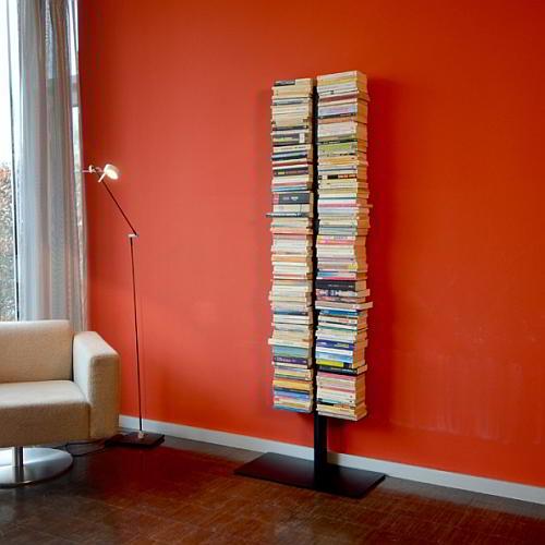 BOOKSBAUM Bücherregal Standregal 170 cm, schwarz