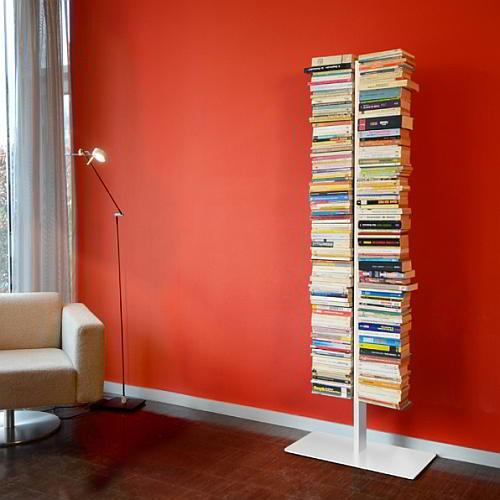 BOOKSBAUM Bücherregal Standregal 170 cm, weiß