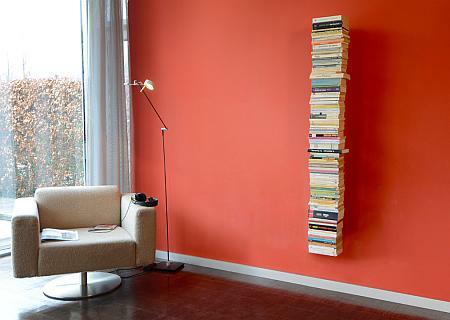 booksbaum b cherregal wand von radius bei. Black Bedroom Furniture Sets. Home Design Ideas