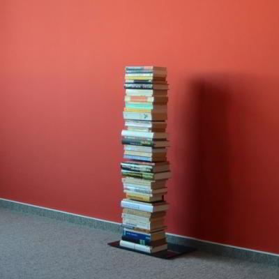 BOOKSBAUM Bücherregal Stand 2 klein schwarz