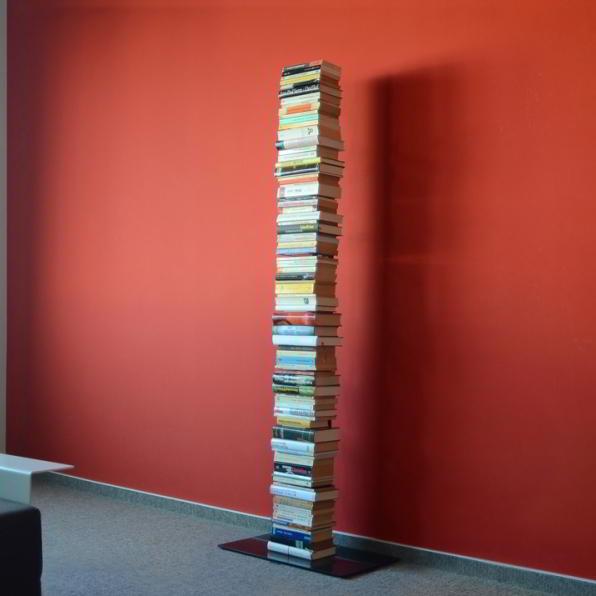 BOOKSBAUM Bücherregal Stand 2 gross schwarz