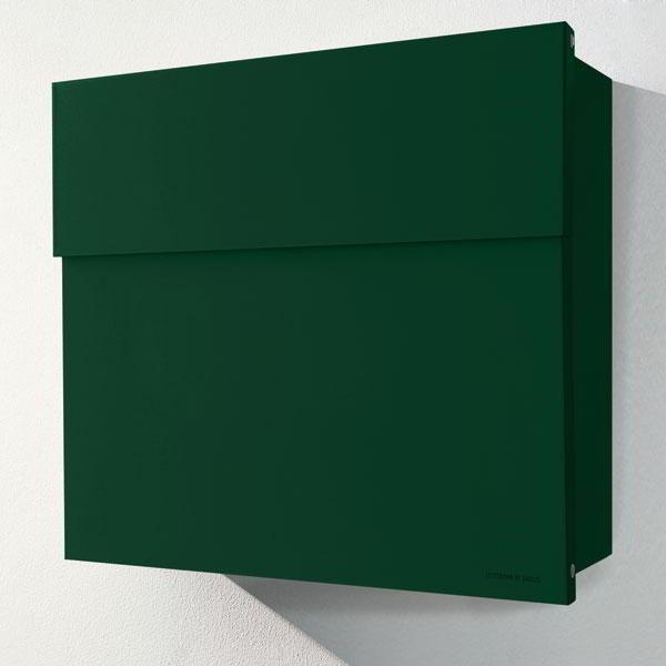 LETTERMAN 4 Briefkasten dunkelgrün