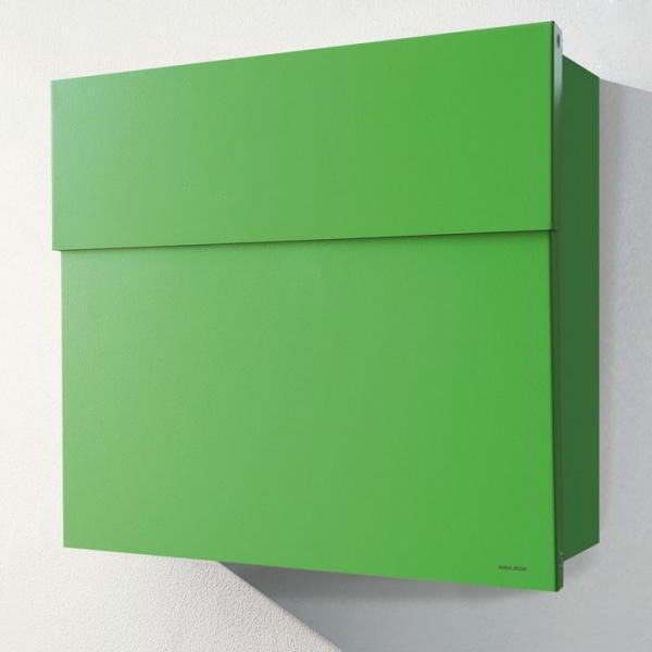 LETTERMAN 4 Briefkasten hellgrün