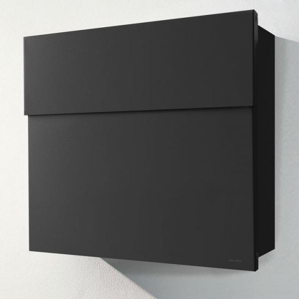LETTERMAN 4 Briefkasten schwarz