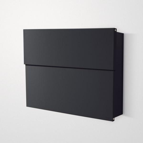 LETTERMAN XXL2 Briefkasten schwarz