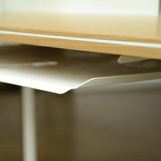 Laptop-Ablage weiß (optional)