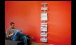 BOOKSBAUM MAGAZIN Wandregal groß, Marke RADIUS, Designer Michael Rösing