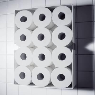puro toilettenrollenregal von radius bei. Black Bedroom Furniture Sets. Home Design Ideas