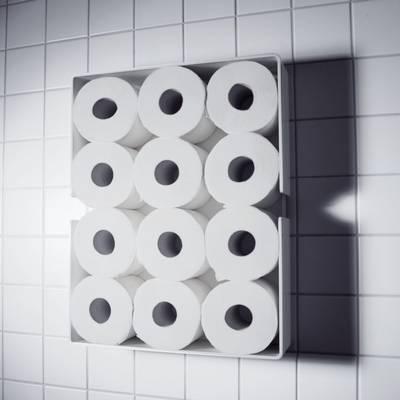 PURO Toilettenrollenregal