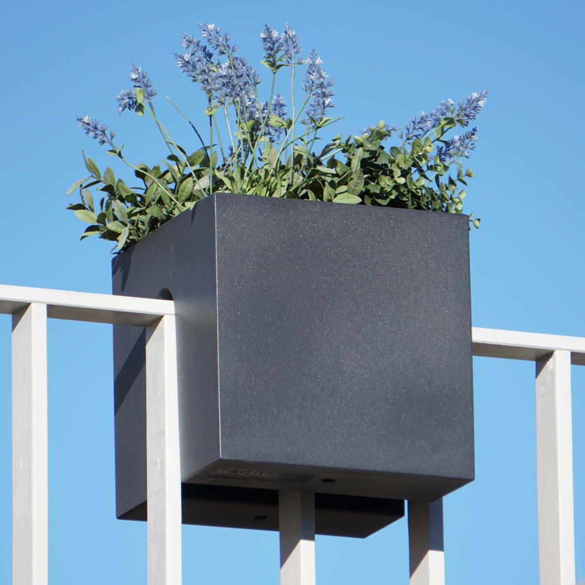 STECKLING CUBE Balkon Pflanzgefäß