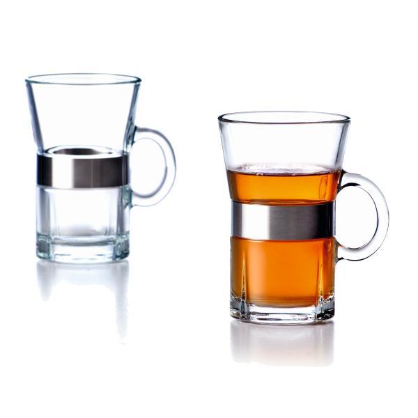 Grand Cru Hot Drink Glas 2 Stck., für Tee und Kaffee