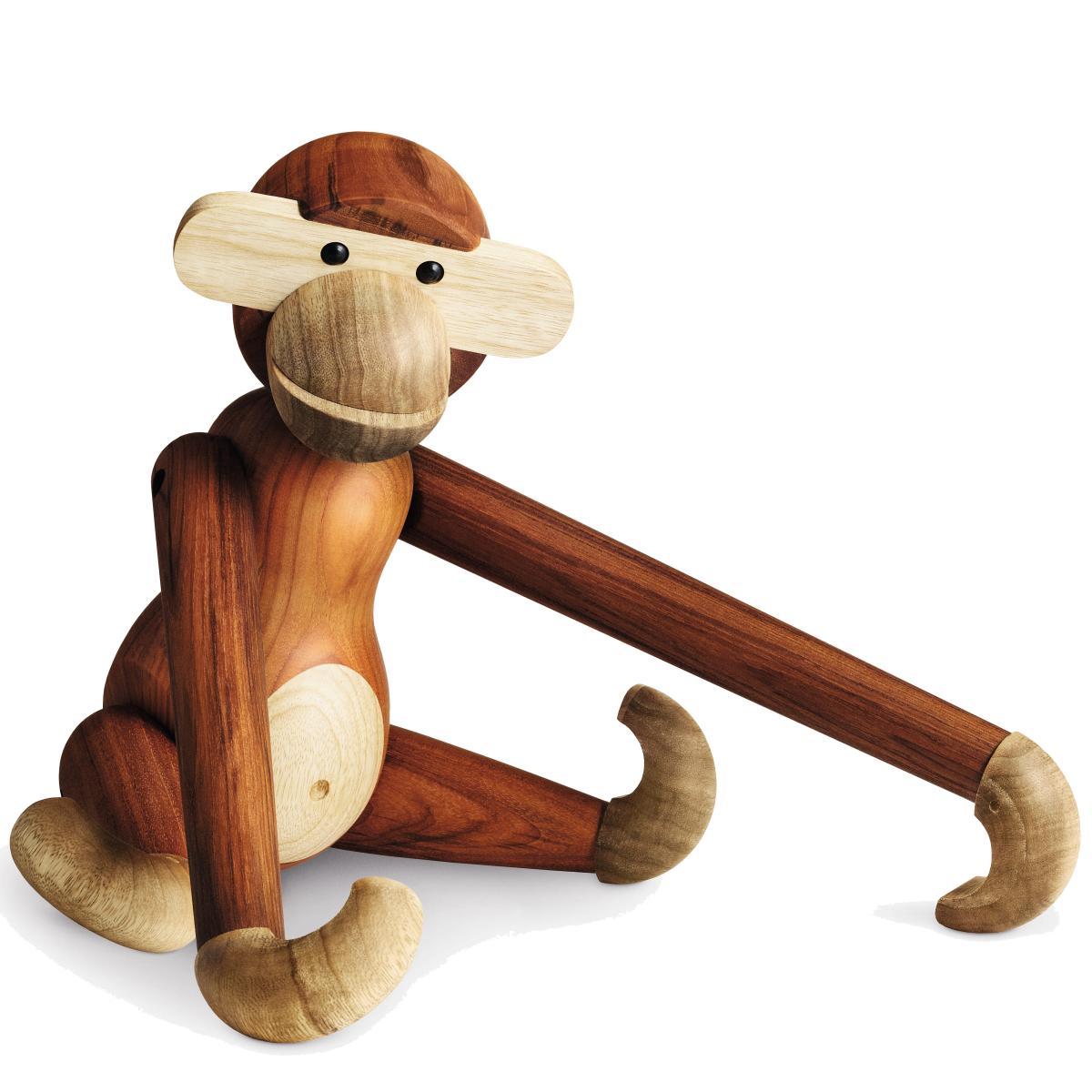 Kay Bojesen: Holz Affe 46 cm, der Große