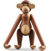 Kay Bojesen: Holz Affe 46 cm, Teakholz/Limba, der große Affe