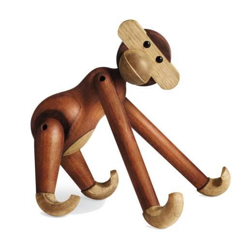 Der Holz-Affe von Kay BOjesen, gestreckte Haltung