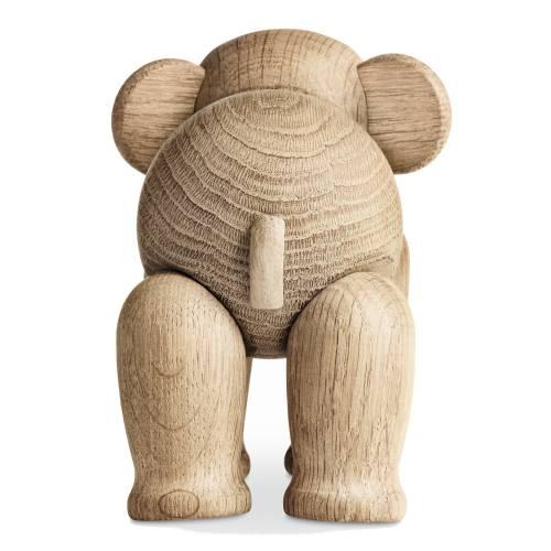 Kay Bojesen Elefant aus Holz auf der Wanderung