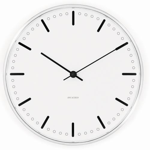 Arne Jacobsen CITY HALL CLOCK Wanduhr 160 mm