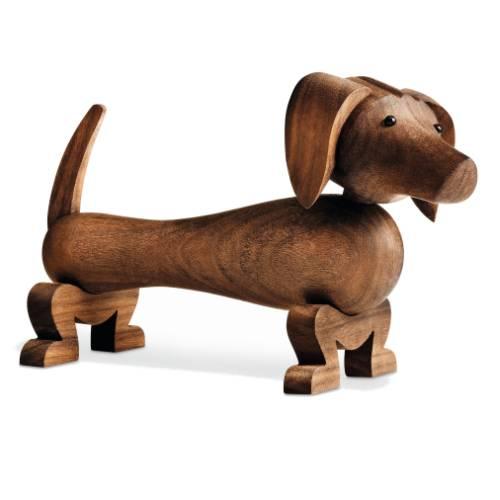 Kay Bojesen Hund, Dackel / Dog Eiche massiv