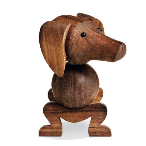 und so schön sieht er aus, der Holzhund