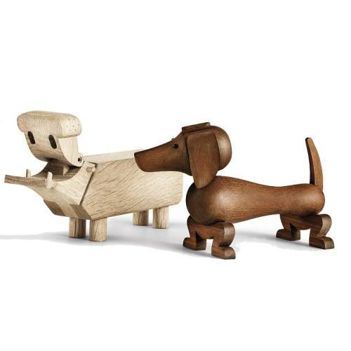 Kay Bojesens Hund mit Flußpferd vereint